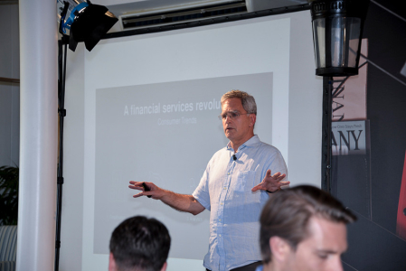 Mike Laven CEO Currency Cloud  - GP Bullhound Summit Marbella 2015