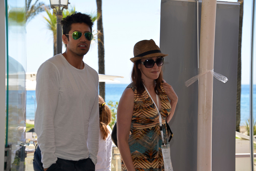 Alicia Navarro CEO & Founder Skimlinks and Jeremy Jauncey Co-founder Tictrac - GP Bullhound Summit Marbella 2015