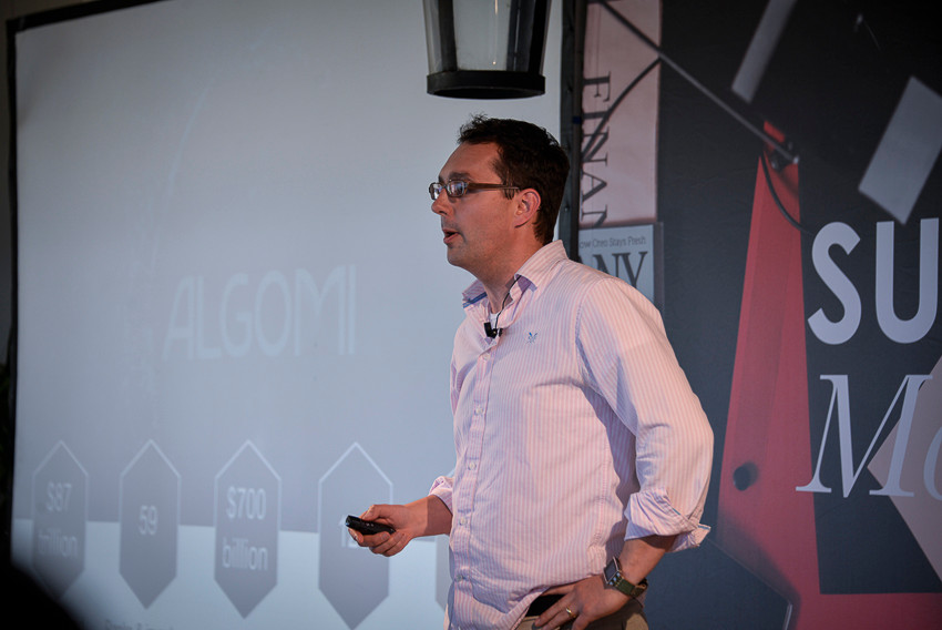 Stu Taylor CEO & Co-founder Algomi - GP Bullhound Summit Marbella 2015