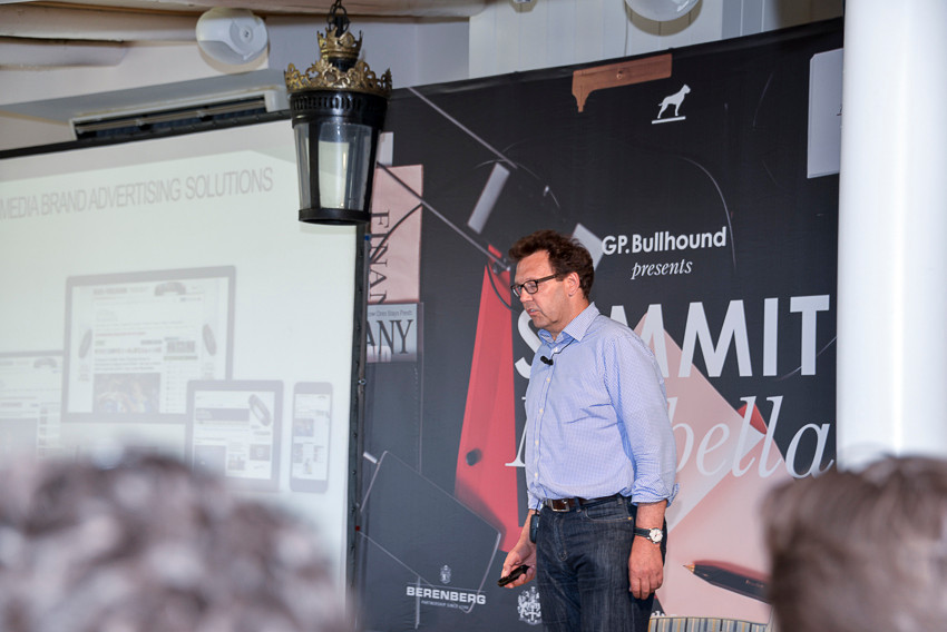 Hugo Drayton CEO Inskin Media  - GP Bullhound Summit Marbella 2015