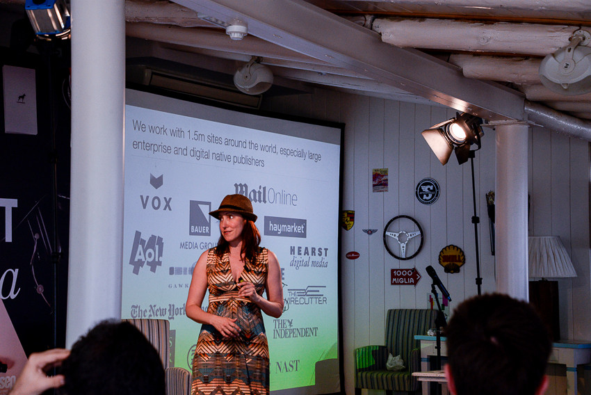 Alicia Navarro CEO & Co-founder Skimlinks  - GP Bullhound Summit Marbella 2015