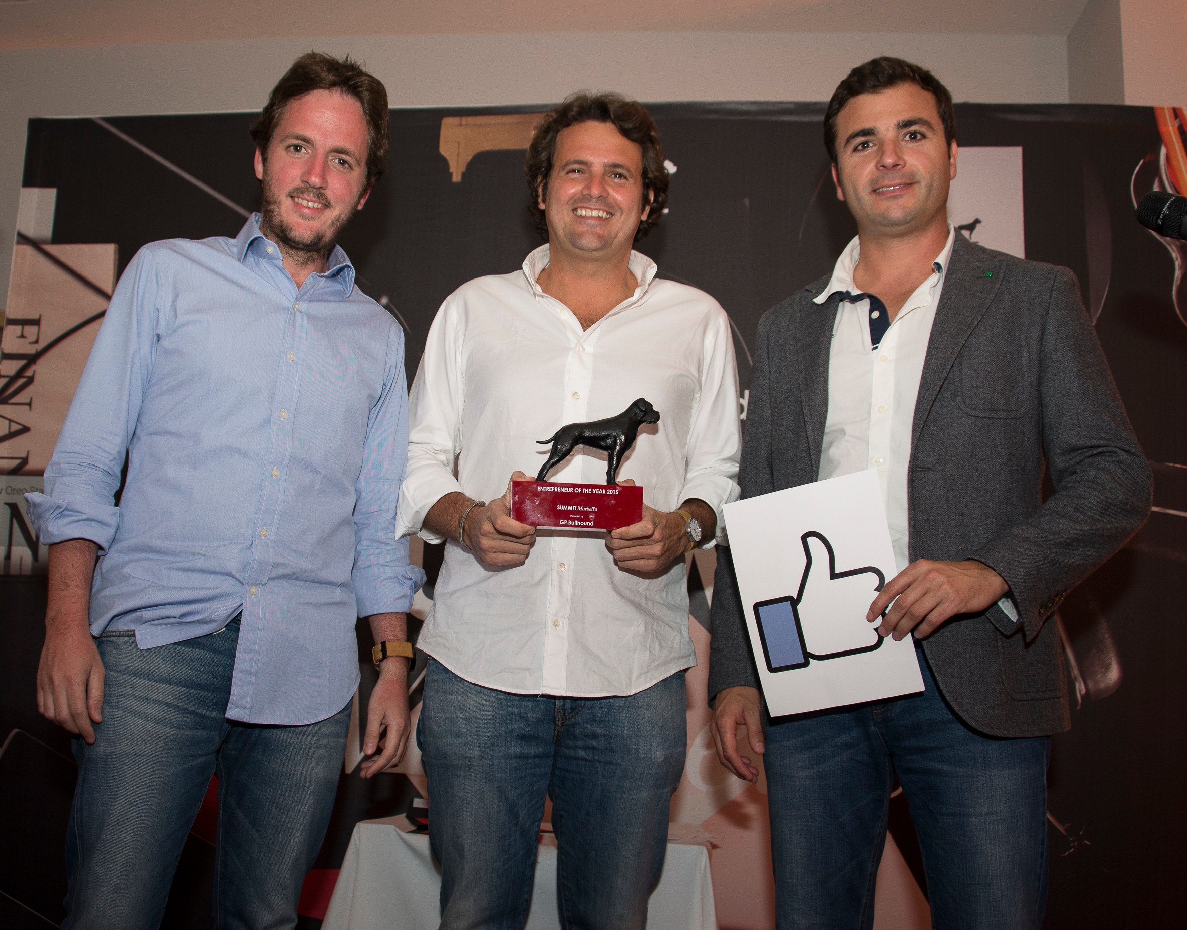 GP Bullhound Summit Awards - Entrepreneurs of the Year 2015 - Jobandtalent